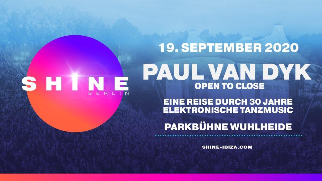 19.09.2020 SHINE Berlin with Paul van Dyk Open To Close
